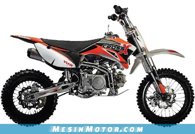 Harga Motor Trail Viar Cross X 100 Mini Trail