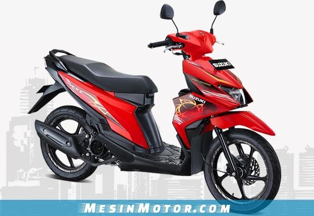 Desain Suzuki Nex II Fancy Dynamic