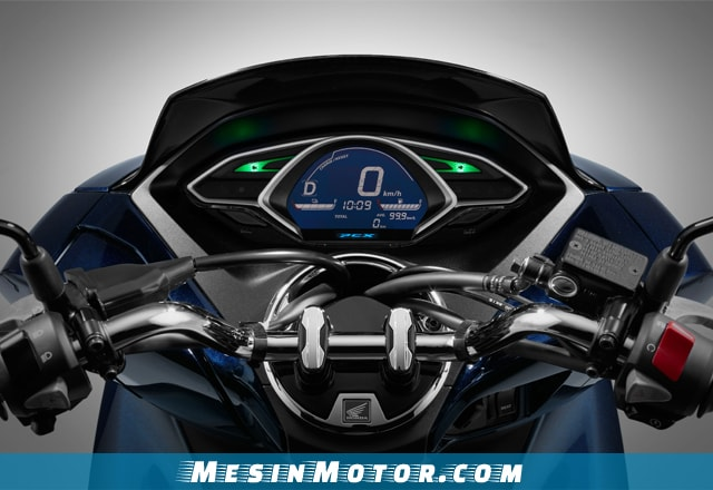 Fitur Speedometer Honda PCX Hybrid 2018