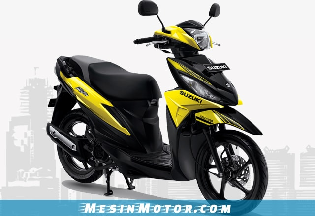 Motor Matic Murah Suzuki Address Playful