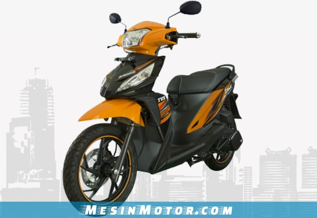 Motor Matic Murah TVS Dazz Digitech-R