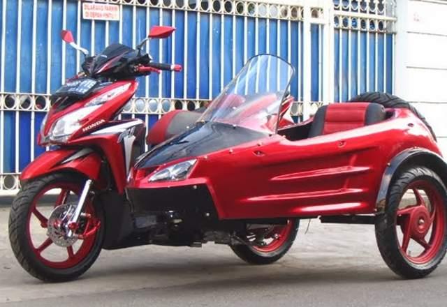 Honda Vario 125 Touring Konsep