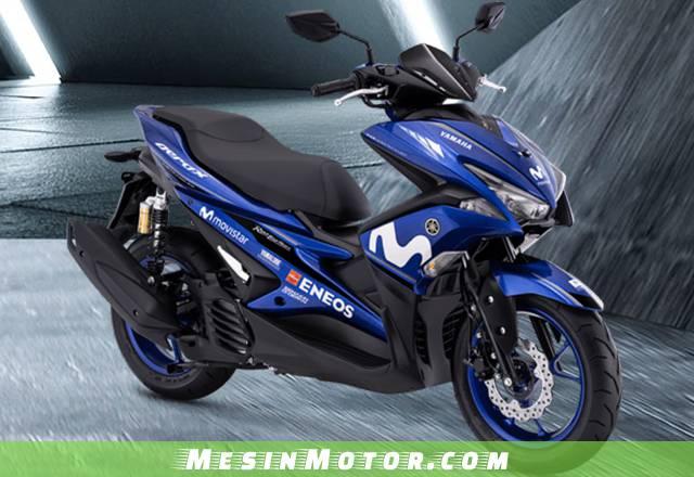 Yamaha Aerox155VVA R-Version Yamaha Movistar