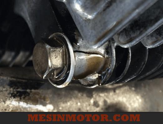Oli Motor Bocor Dari Bawah