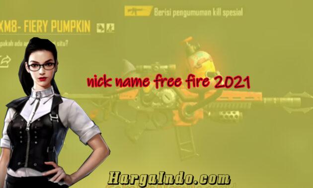 nama ff 2021