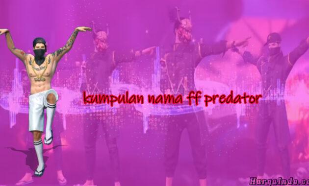 nama predator lainnya