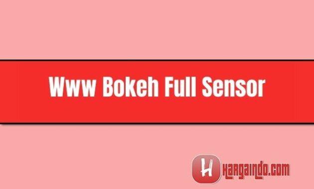 Www Bokeh Full Sensor