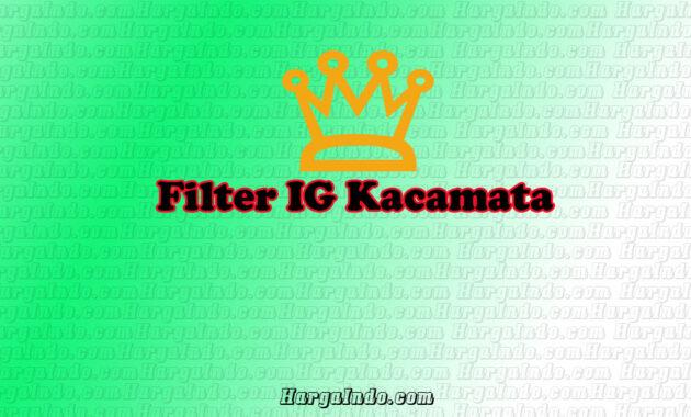 filter kacamata