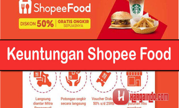 Keuntungan Shopee Food